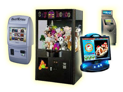 Amusement Game Machines Vending