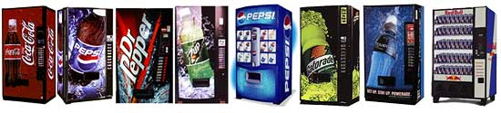 Pop Vending Machines